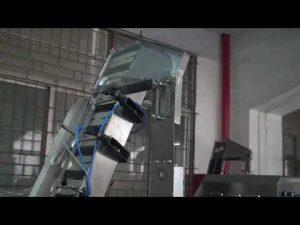 пълна автоматична серво въртяща се машина за затваряне на бутилка за пластмасова винтова капачка