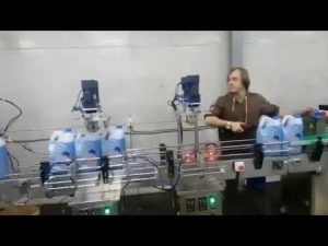 автоматична антикорозионна почистваща тоалетна дезинфектант течна избелваща линия машина за пълнене