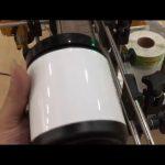 машина за етикетиране на стъклен буркан за домашни любимци и бутилка за стикер