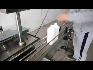 икономична автоматична машина за бутилиране на бутилиращо двигателно масло с бутало