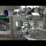 Продажба на въртяща се плоча модел малка машина за затваряне на капачката на помпата
