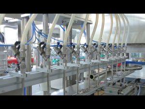 дезинфектант течен ръчен сапун машина за пълнене с алкохол