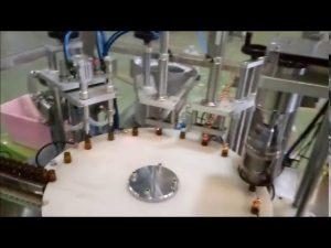 автоматична машина за пълнене с бутилка за пълнене с течност 10 мл