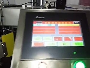 автоматична компютърна машина за печат на етикети ролка стикер пластмасова торба машина за етикети