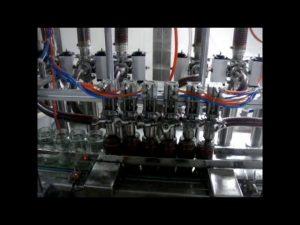 линейна автоматична 4 глави бутална бутилка вискозен кетчуп сос течна опаковъчна машина за пълнене
