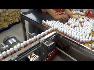 10 глави ротационна вакуумна автоматична машина за пълнене на парфюми