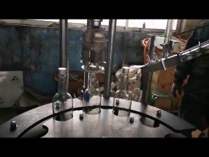 търговска автоматична алуминиева машина за затваряне на капачки и запечатване