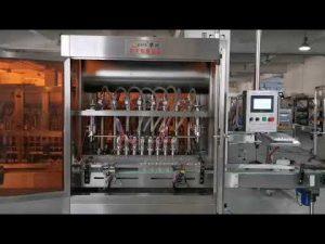 пълна автоматична машина за пълнене на доматен сос