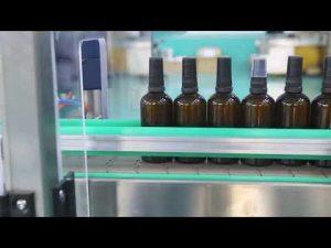 машина с висока точност от неръждаема стомана платформа cbd бутилка за пълнене с масло