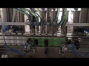 бутална машина за пълнене с течен сапун