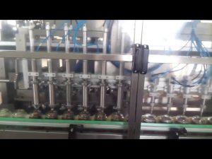 автоматична машина със стъклен буркан с кисело мляко за пълнене