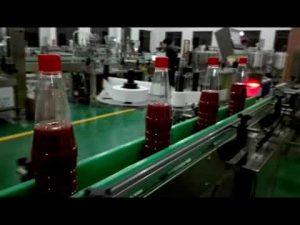 висока скорост пълна автоматична машина за пълнене на бутилки за кетчуп, конфитюр, сос