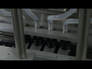 10ml-5l автоматична машина за пълнене с течен настолен компютър с 6 глави