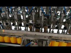 12 глави автоматична машина за пълнене на бутилки за сос от кетчуп козметика