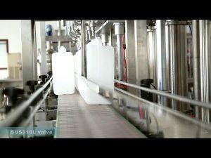 пълна автоматична машина за етикетиране на масло за пълнене с масло