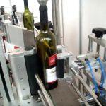 двойна странична и кръгла бутилка с автоматична машина за етикетиране