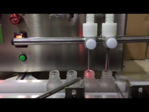 Продажба на мини размер пейка отгоре автоматичен малък флакон машина за пълнене с течно етерично масло