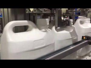 автоматична машина с 4 дюзи за течно и сметочно цифрово пълнене
