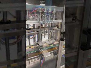 автоматична машина за пълнене на бутилка за парфюм, машина за течно пълнене с цена