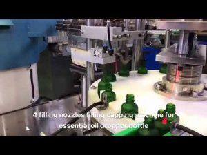 капкомер бутилка етерично масло cbd масло пълнене машина