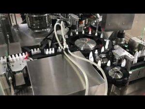 фармацевтична машина за пълнене с капки за очи за малък флакон от 20 ml